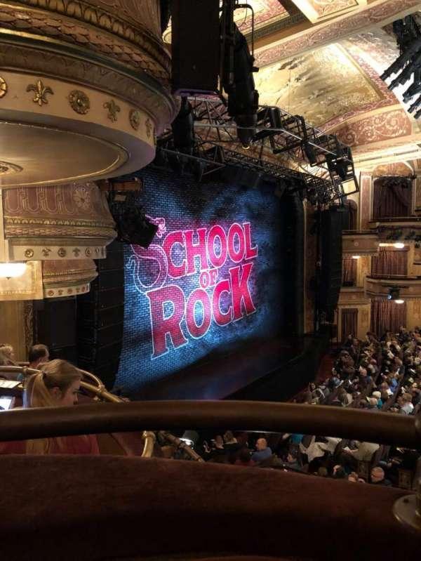Winter Garden Theatre, section: Mezzanine L, row: A, seat: 19