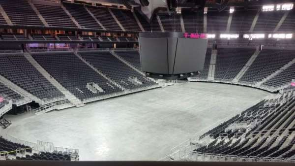 T-Mobile Arena, section: 105, row: a, seat: 6 - 7
