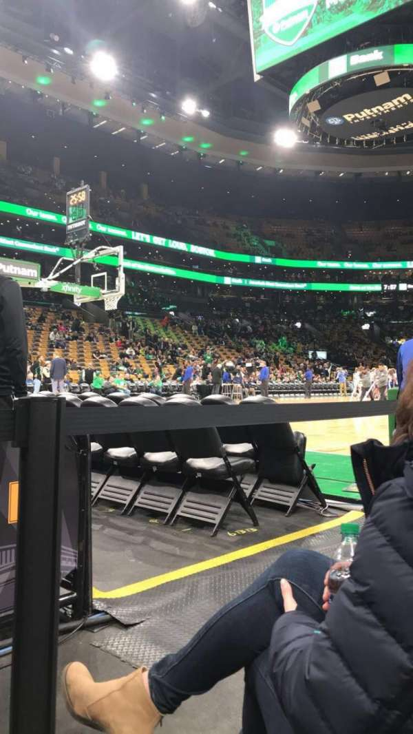 TD Garden, section: Loge 3, row: B, seat: 11