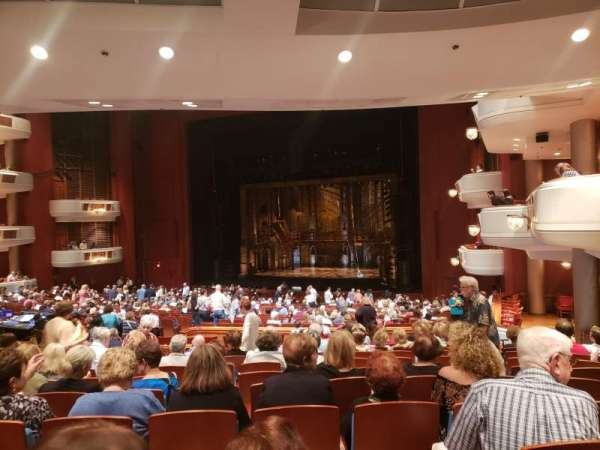 Au-Rene Theatre at the Broward Center, section: Orchestra R, row: LL, seat: 24