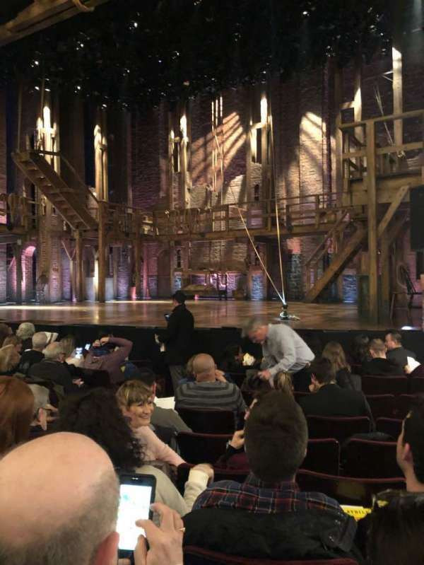 Richard Rodgers Theatre, section: Orch R, row: H, seat: 12