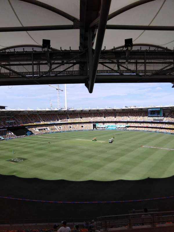 The Gabba, section: 73, row: uu, seat: 276
