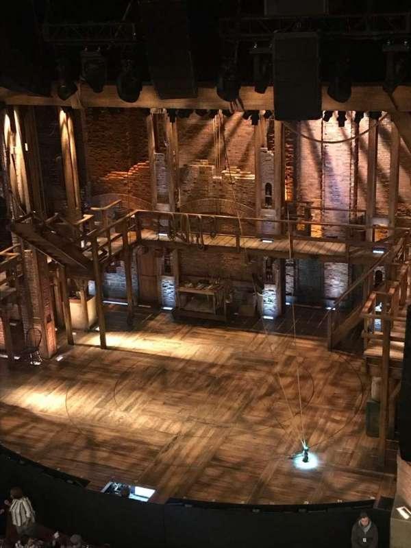 CIBC Theatre, section: Balcony R, row: A, seat: 2-4