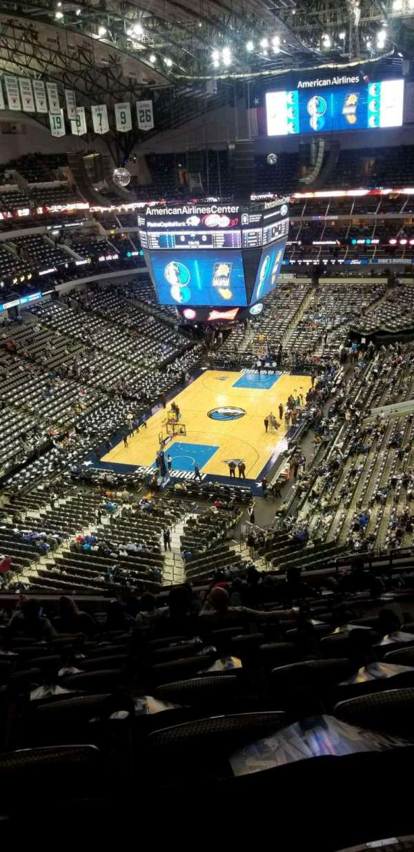 American Airlines Center, section: 333, row: k, seat: 7