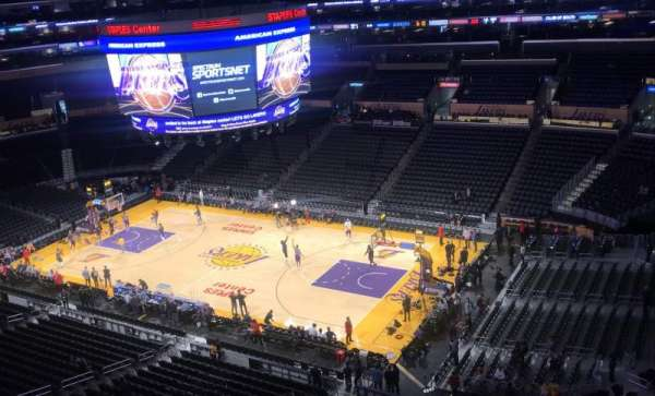 Staples Center, section: 332, row: 8, seat: 6