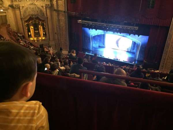 Chicago Theatre, section: Balcony2R, row: M, seat: 204