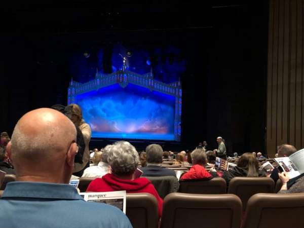 Chapman Music Hall - Tulsa Performing Arts Center, section: Orchestra Right, row: V, seat: 16