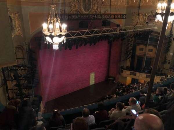 Shubert theatre, section: Balcony, row: F, seat: 23t