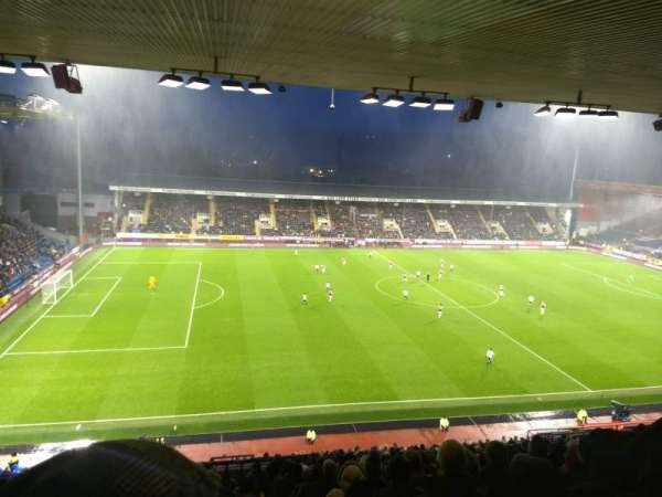 Turf Moor, section: James Hargreaves uoper, row: Z, seat: 195