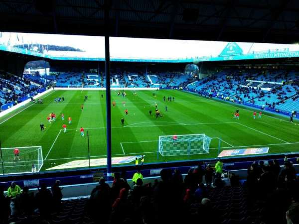 Hillsborough Stadium, section: West Stand Upper (Away End), row: 20, seat: 46