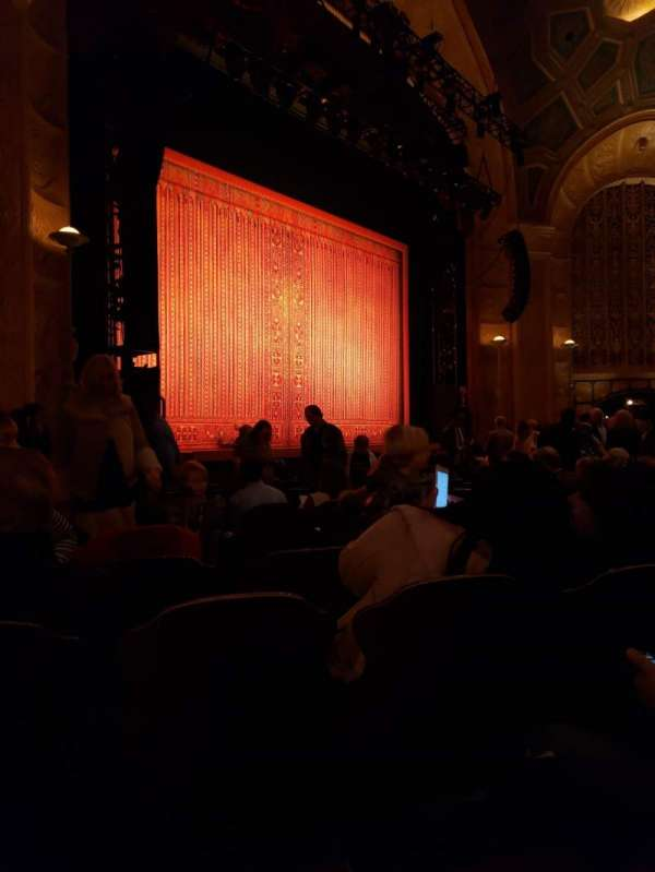 Detroit Opera House, section: Main Floor 5, row: M, seat: 9