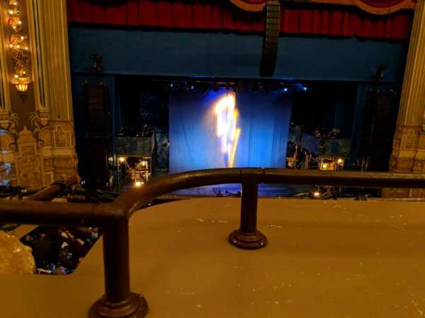 James M. Nederlander Theatre, section: Loge RC, row: A, seat: 326