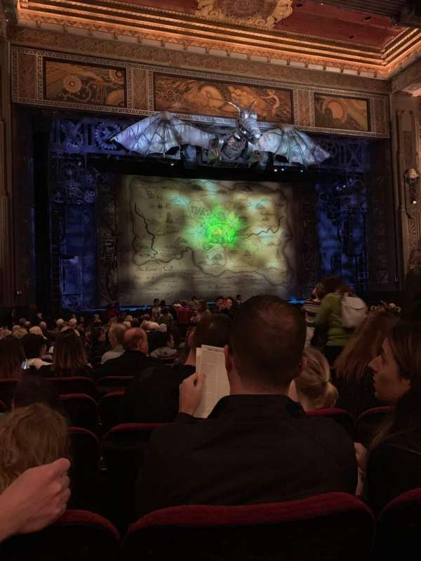 Hollywood Pantages Theatre, section: Orchestra L, row: W, seat: 305