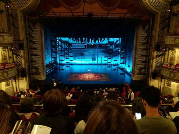Cort Theatre, section: Mezzanine C, row: D, seat: 106
