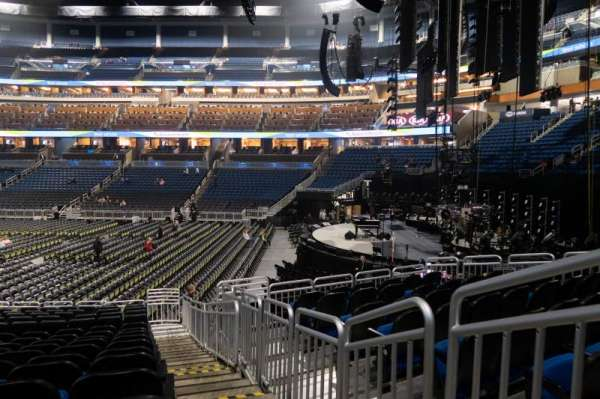 Amway Center, section: 104, row: 16, seat: 1
