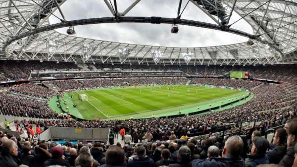 London Stadium, section: 231, row: 42, seat: 598