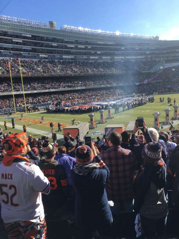 Soldier Field, section: 146, row: 19, seat: 8