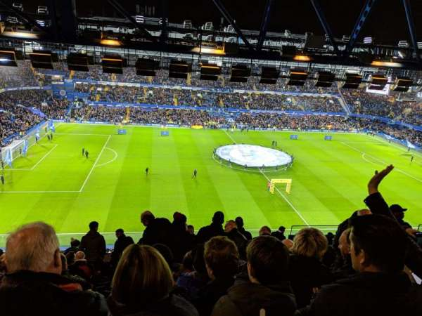 Stamford Bridge, section: West Stand Upper 6, row: 14, seat: 160