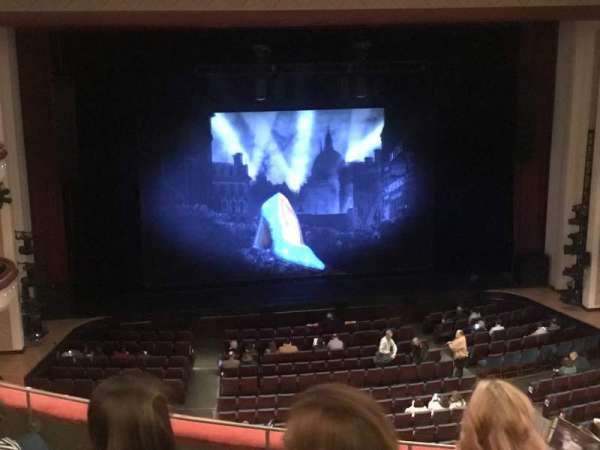 Belk Theater, section: Mezzanine, row: D, seat: 213