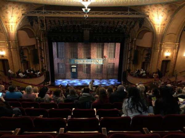 Al Hirschfeld Theatre, section: Mezzanine C, row: S, seat: 108