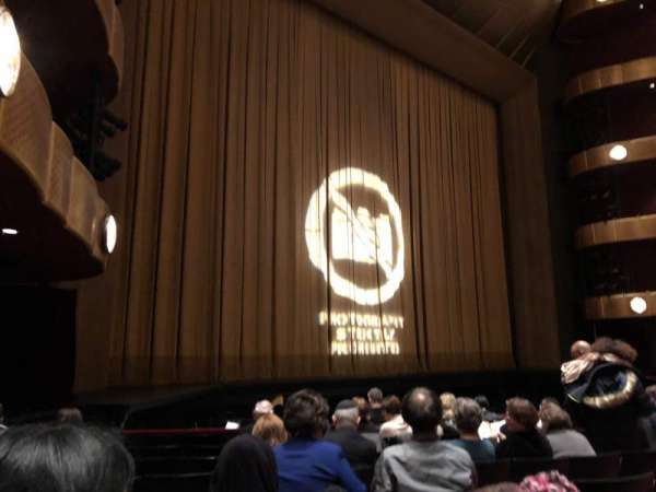 David H. Koch Theater, section: Left Orchestra, row: H, seat: 29