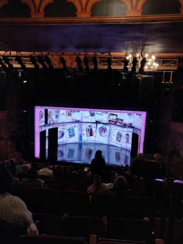 August Wilson Theatre, section: Mezzanine C, row: K, seat: 101