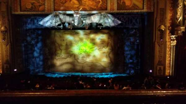 Hollywood Pantages Theatre, section: MezzC, row: A, seat: 101