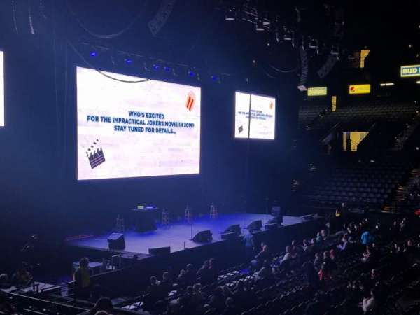 Royal Farms Arena, section: 109, row: L, seat: 8