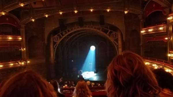 Lyric Theatre, section: Dress Circle, row: E, seat: 124