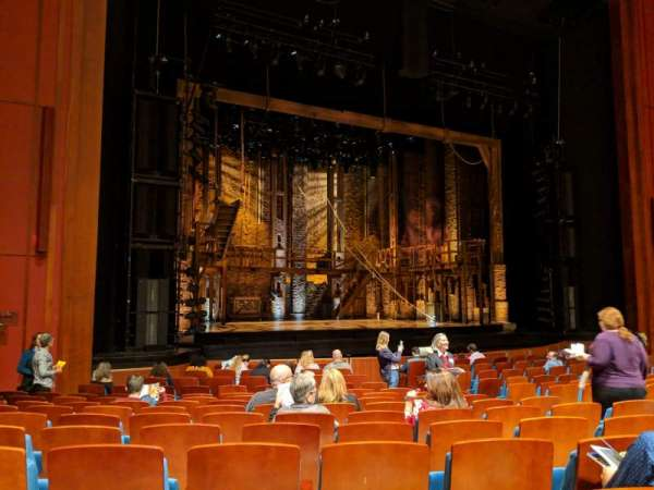 Au-Rene Theatre at the Broward Center, section: Orchestra L, row: S, seat: 19