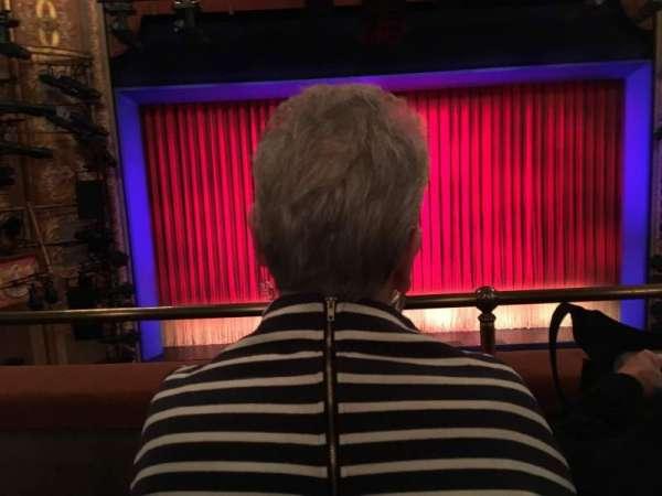 Longacre Theatre, section: Mezzanine C, row: B, seat: 110