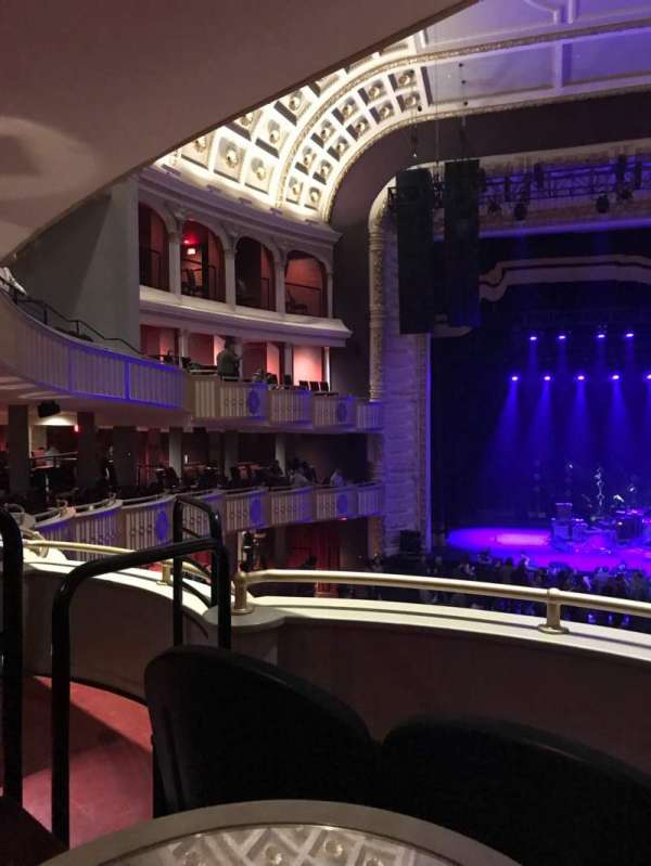 The Met PhiladelphIa, section: GBOX10, row: B, seat: 7