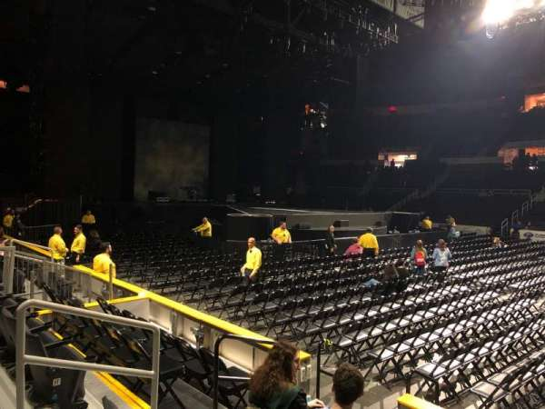 Dunkin' Donuts Center, section: 122, row: HH, seat: 10