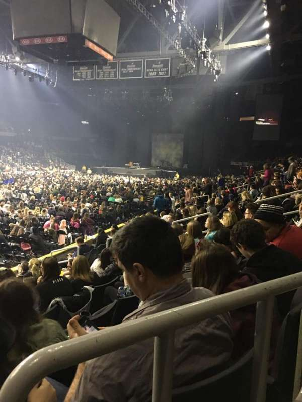 Dunkin' Donuts Center, section: 110