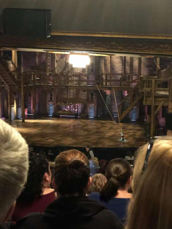 Richard Rodgers Theatre, section: Orchestra Right, row: U, seat: 14