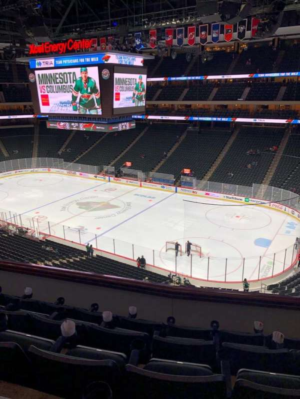 Xcel Energy Center, section: C2, row: 5, seat: 3