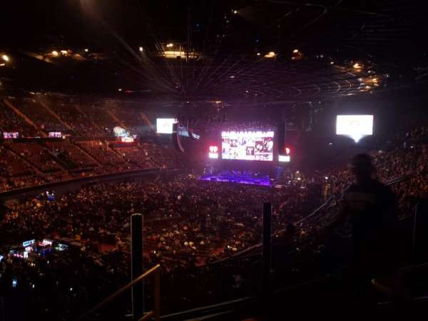 The Forum, section: 203, row: 4, seat: 14
