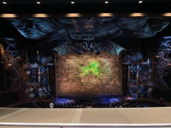 Gershwin Theatre, section: Front Mezzanine C, row: B, seat: 109