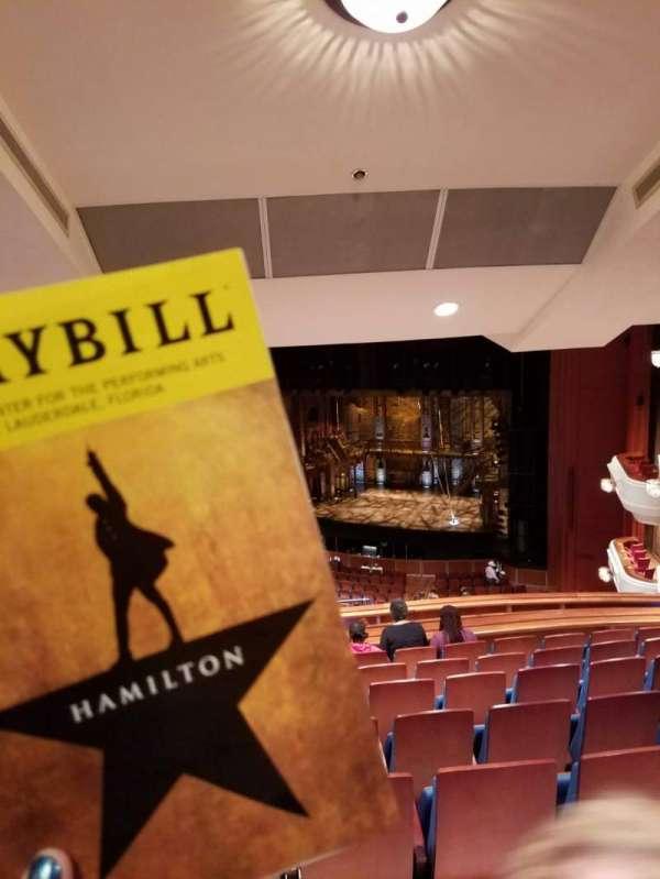 Au-Rene Theatre at the Broward Center, section: Mezzanine R, row: K, seat: 14