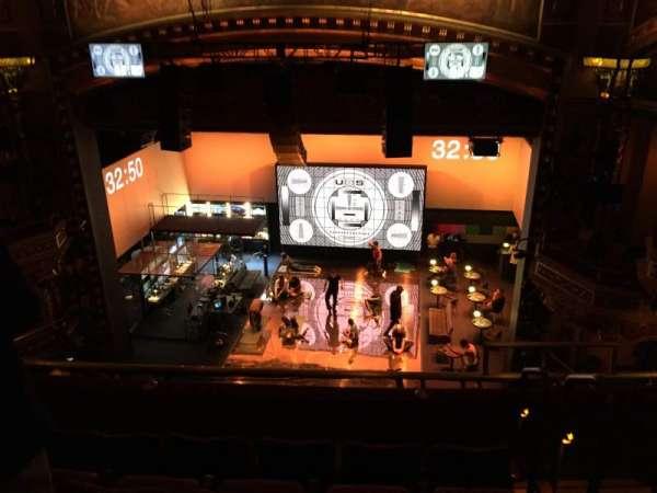 Belasco Theatre, section: Balcony C, row: E, seat: 114