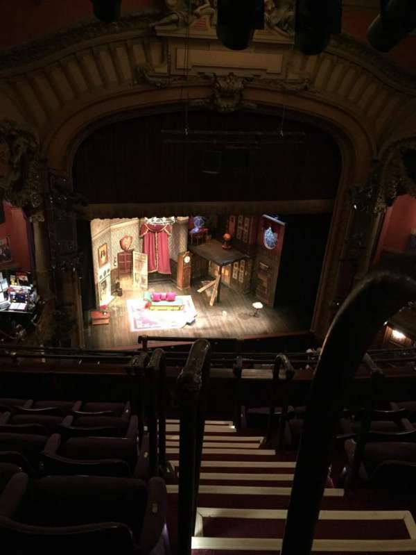 Lyceum Theatre (Broadway), section: Balcony Left, row: F, seat: 1