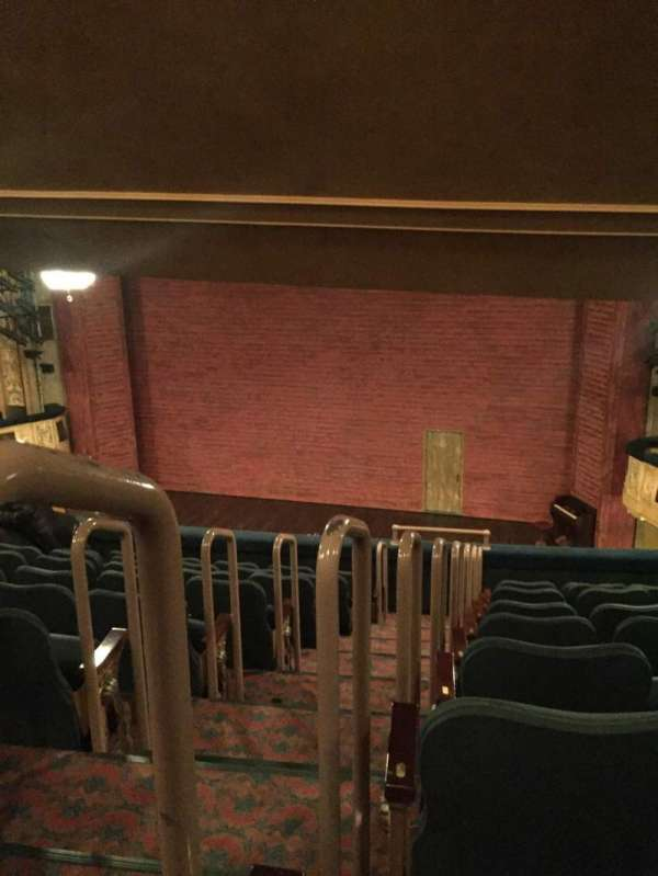 Shubert Theatre, section: Mezzanine R, row: J, seat: 2