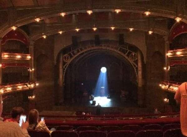 Lyric Theatre, section: DRESSC, row: F, seat: 118