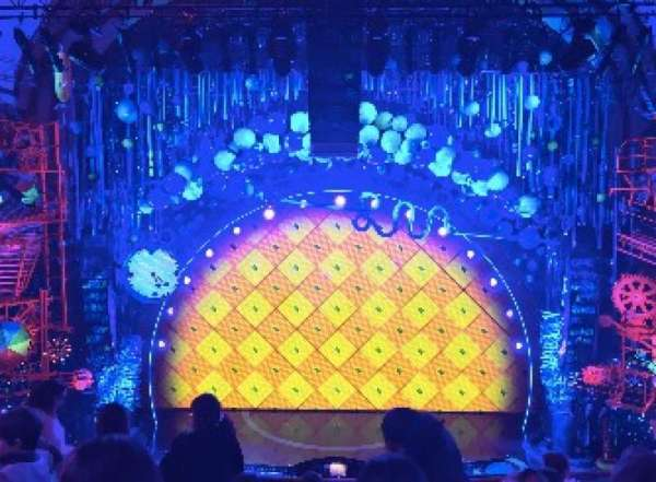 Palace Theatre (Broadway), section: MEZZ, row: F, seat: 109