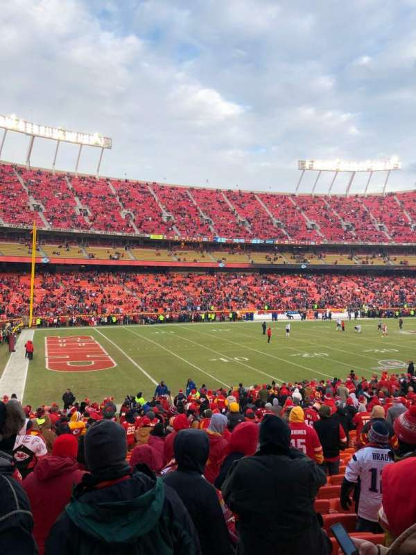 Arrowhead Stadium, section: 123, row: 24, seat: 9