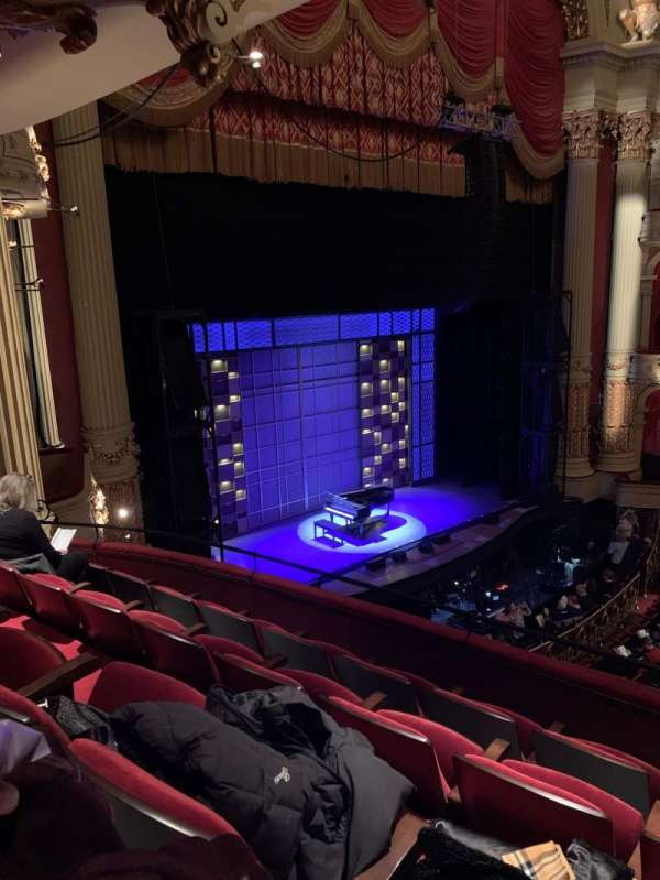 Academy of Music, section: Balcony I, row: B, seat: 57