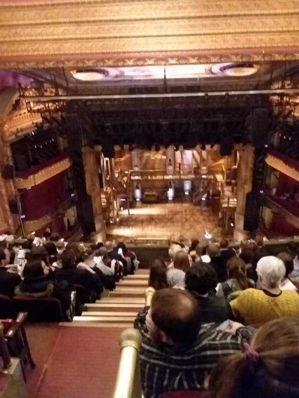 CIBC Theatre, section: Balcony RC, row: K, seat: 402