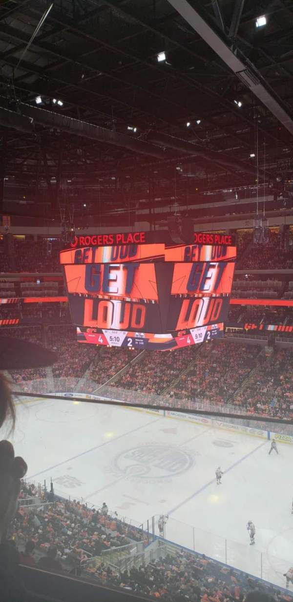 Rogers place, section: 234, row: 1, seat: 1