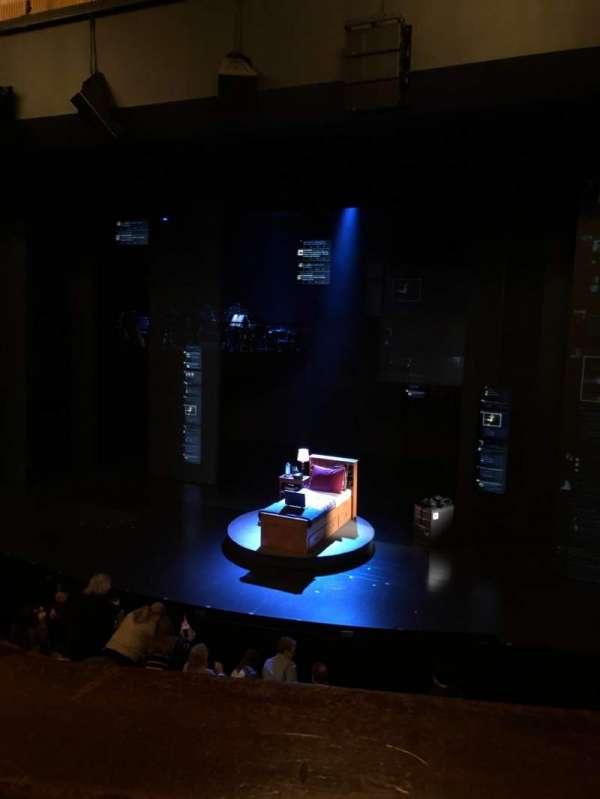 Music Box Theatre, section: Right Mezzanine, row: A, seat: 6