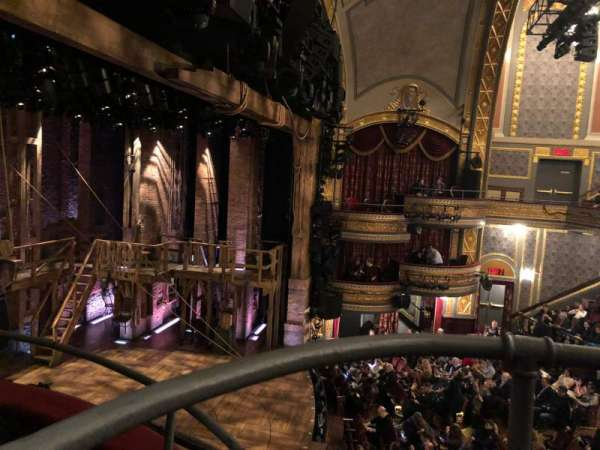 Richard Rodgers Theatre, section: box f, seat: 1,2, 3